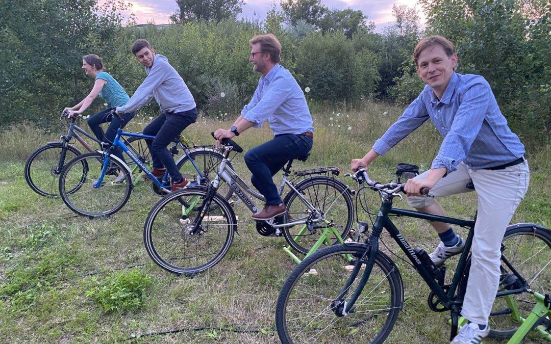 Fahrradkino in Apolda und Pößneck